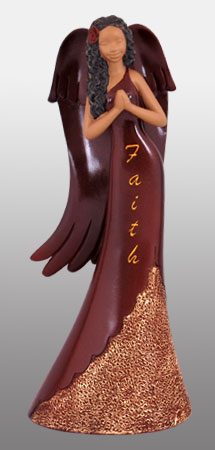 Faith Angel in burgundy 9H