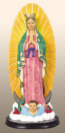 Virgin of Guadalupe 8.5H