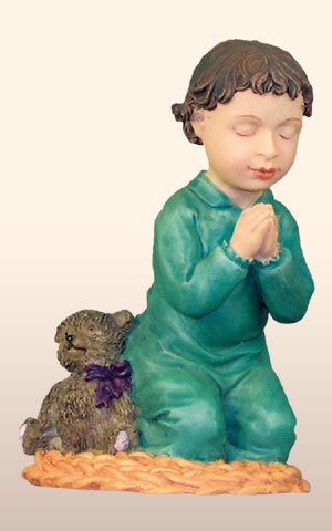 Hispanic Praying Boy, -- 4H       *