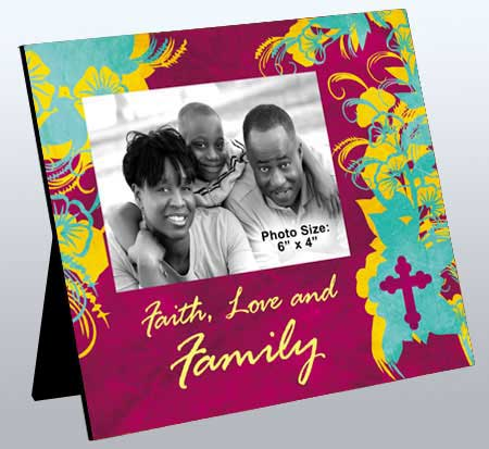 Faith, Love, Family 10x8