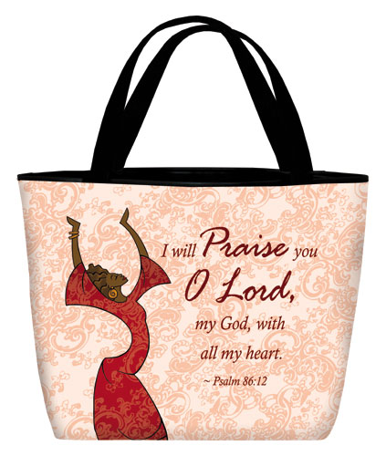 I will Praise in red 17x13